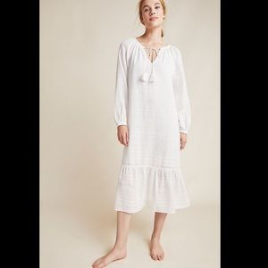 Anthropologie Gauze Midi Dress